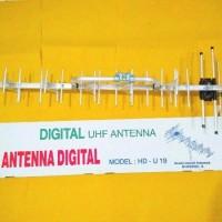 Antenna Antena Tv Televisi PF Yagi Digital Luar Outdoor HD U-19 HDU-19
