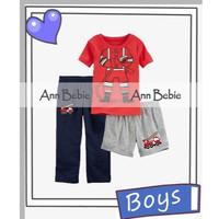 Piyama Baju Tidur Anak Laki-laki 3in1 Ann Bebie Pemadam Kebakaran