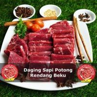 DAGING SAPI POTONG RENDANG BEKU 1kG