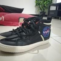 Sepatu Vans Sk8-Hi x Nasa Space Voyager 46 MTE DX True Black Original