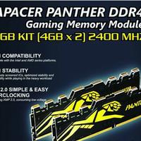 gaming memory ddr4 apacer panther 8GB kit