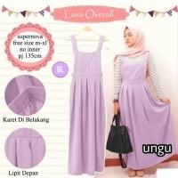overal muslim/maxi dress/dress muslim/baju muslim/lava overall/gl62282