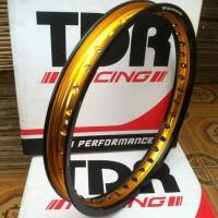 paket velg tdr two tone 140/160-17 depan belakang ring tdr dua warna