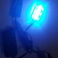 Lampu 6 LED Mini Strobo Blitz Flash Light Variasi Motor Mobil 187