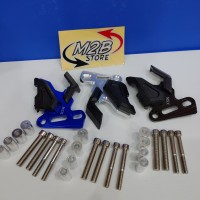 Cover Tutup Kaliper Motor Nmax Aerox Vixion cnc dan campur plastik ABS
