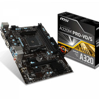 Msi Amd Motherboard A320M Pro VD/S