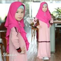 baju muslim anak anak terusan dress muslimah kids casual santai
