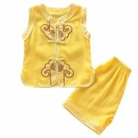 setelan bayi model cheongsam/ baju imlek bayi / baju imlek anak