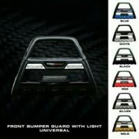 tanduk depan bumper depan with led trd mobil datsun go