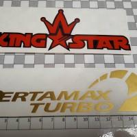 Cutting Sticker PERTAMAX TURBO