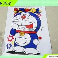 sticker stiker motor mobil gambar cartoon kartun karakter doraemon m20