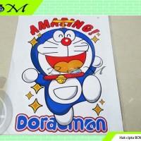 sticker stiker motor mobil gambar cartoon kartun karakter doraemon m17