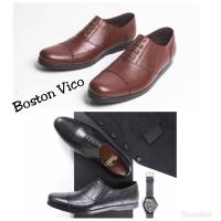 Sepatu pantofel kulit pria Boston Vico (bally,kickers,brodo,pedro,boot