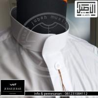 Jubah Gamis Saudi Al asheel warna & putih impor
