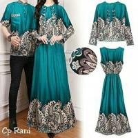 New Produk Fashionos -Baju Muslim Kapelan Lebaran 17400 Couple Batik