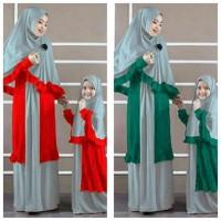New Produk Cp/Couple/Lebaran/Busana/Baju Muslim Mom N Kid Naila