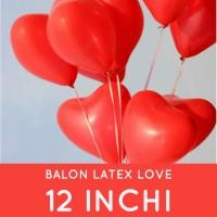 grosir Balon super premium import malaysia Latex LOVE-12 inchi-100pc