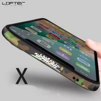 iPhone XS Max XR X LOFTER Aluminum Frame Bezel Metal Bumper Case Cover