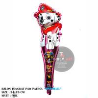 Balon Foil TONGKAT PAW PATROL / Balon Pentung / Balon Karakter