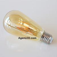 Lampu Filamen LED ST64 Bulb 4W bohlam 4 w watt pijar edison cafe OVAL