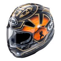 Arai RX7X Pedrosa Samurai SPIRIT GOLD Original SNI Helm Full Face-Gold - Sesuai Gambar, Size XL