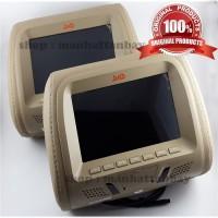 Car Headrest Monitor - Monitor Bantal - Monitor LED 7 inch DHD-7016