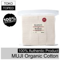Authentic MUJI Organic Cotton   100% japan japanese kapas organik vape
