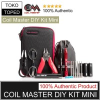 Authentic Coil Master DIY KIT MINI   tool tang tweezer obeng tas vape
