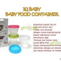 MAK97 IQ BABY BABY FOOD CONTAINER / STORAGE PENYIMPAN ASI DAN MPASI