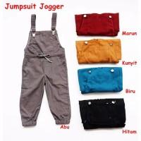 Jumpsuit Jogger Anak 7-8 tahun Baju Kodok Anak Unisex Laki Perempuan