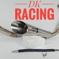 knalpot racing kawasaki bajaj pulsar 200ns Jardinn GP 1 full cacing