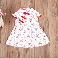 Gaun imlek anak / Dress cheongsam /Pakaian bayi perempuan
