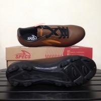 sepatu olahraga Sepatu Bola Specs Eclipse FG Black Bitter Brown 10074