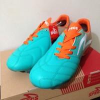 sepatu olahraga Sepatu Bola Specs Equinox FG Comfrey Green Orange