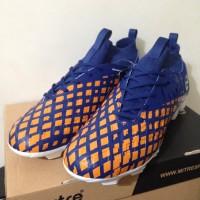 sepatu olahraga Sepatu Bola Mitre Invader FG Navy Citrus Orange T0101