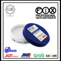POMADE FIX PROFESSIONAL ROCK & RULE HAIR WAX 80gram (FREE SISIR SAKU)