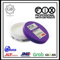 POMADE FIX PROFESSIONAL HAIRLASTIC HAIR WAX 80gram (FREE SISIR SAKU)