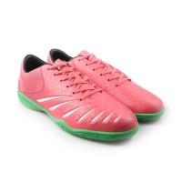 Sepatu Futsal Ortuseight Blitz In Light Red White Green Original