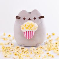 GUND - Pusheen Eating Popcorn