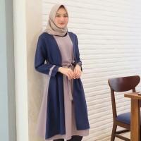 Baju Atasan Wanita Muslim Blouse Tunik Tamara / Baju Hijab Murah