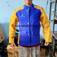 Baju Las / Jaket Las / Apron Las / Wearpack Las Bahan Kulit