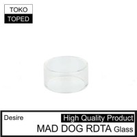 Desire MAD DOG RDTA Replacement Glass | 24 kaca pengganti vape 24mm