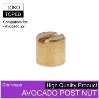 Avocado 22 Post Nut | geekvape rdta 22mm