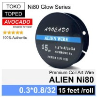 [AN] Authentic Avocado ALIEN Ni80 wire | rda rta rdta nichrome 80