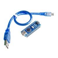 Arduino Nano Compatible Atmega328 5V 16MHz CH340 with usb kabel data