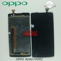 LCD TOUCHSCREEN OPPO R2001 YOYO HITAM