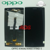 LCD TOUCHSCREEN OPPO X9006 X9007 FIND 5 HITAM
