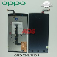 LCD TOUCHSCREEN OPPO X909 FIND 5 HITAM