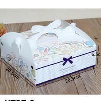 box kotak kue lapis - bolu surabaya / dus hampers / packing import