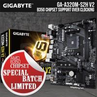 Gigabyte GA-A320M-S2H V2 (AM4,A320,DDR4) - B350 Chipset Support OC